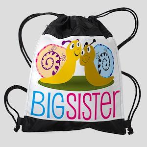 Big Sister Snail Drawstring Bag