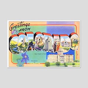 Colorado Greetings Mini Poster Print