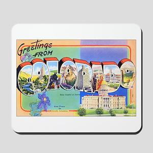Colorado Greetings Mousepad