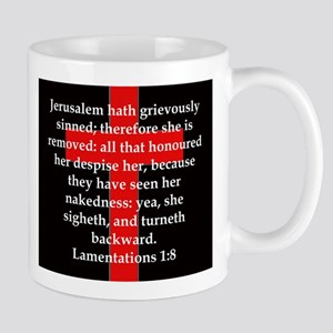 Lamentation 1-8 11 oz Ceramic Mug