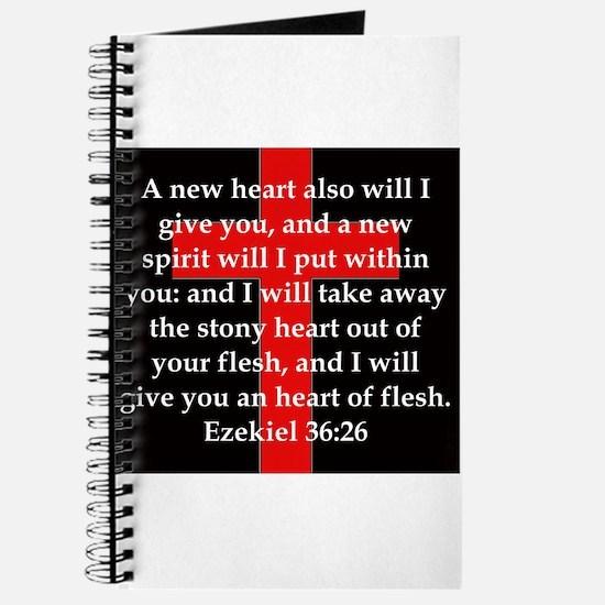 Ezekiel 36-26 Journal