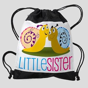 Little Sister Snail Drawstring Bag