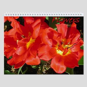 Flowers 1 Wall Calendar