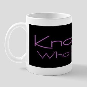 Knoxville: Who Knew? (Purple) Mug