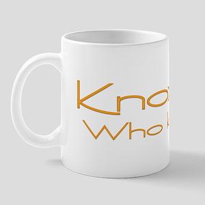 Knoxville: Who Knew? (Orange) Mug