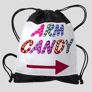 Arm Candy Drawstring Bag