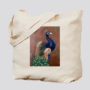 StephanieAM Peacock Tote Bag