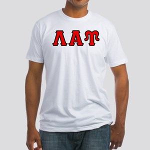 Lambda Alpha Upsilon Letters Fitted T-Shirt