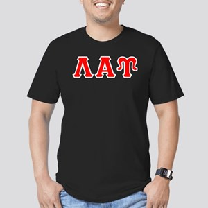 Lambda Alpha Upsilon L Men's Fitted T-Shirt (dark)