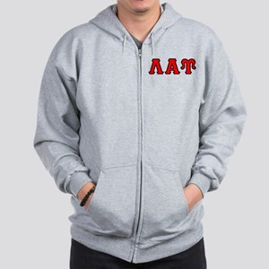Lambda Alpha Upsilon Letters Zip Hoodie