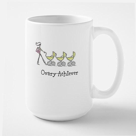 Ovary-Achiever, Triplet Large Mug
