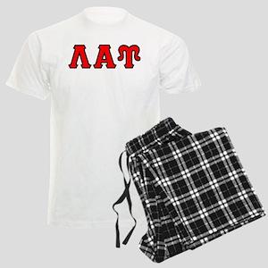 Lambda Alpha Upsilon Letters Men's Light Pajamas
