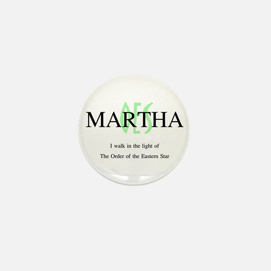 Martha OES Mini Button