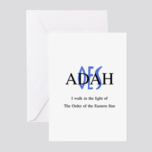 OES Adah '06-'07 Greeting Cards (Pk of 10)