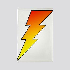 The Lightning Bolt 5 Shop Rectangle Magnet