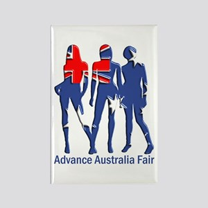 Advance Australia Fair Rectangle Magnet