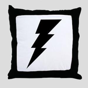 The Lightning Bolt 6 Shop Throw Pillow
