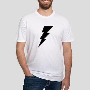 The Lightning Bolt 6 Shop Fitted T-Shirt