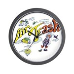 Air Trash Wall Clock