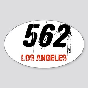 562 Oval Sticker