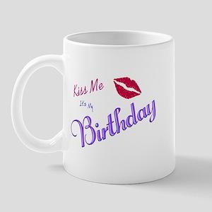 Birthday Kiss Mug