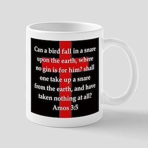 Amos 3:5 11 oz Ceramic Mug