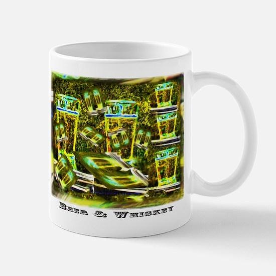 Beer and Whiskey Mug