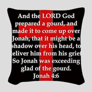 Jonah 4-6 Woven Throw Pillow