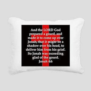 Jonah 4-6 Rectangular Canvas Pillow