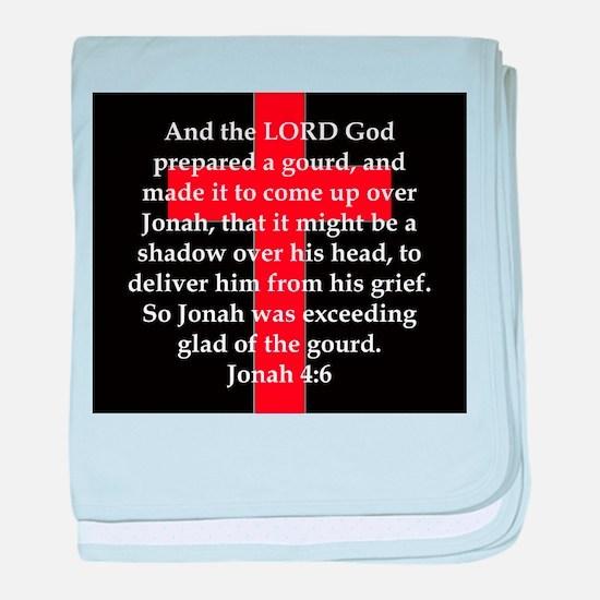 Jonah 4-6 baby blanket