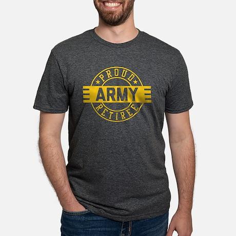 Proud Army Retiree Tri-Blend T-shirt