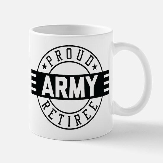 Proud Army Retiree Mug