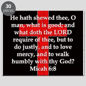 Micah 6-8 Puzzle