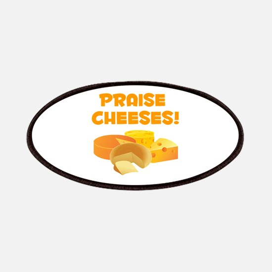 Praise Cheeses! Patches