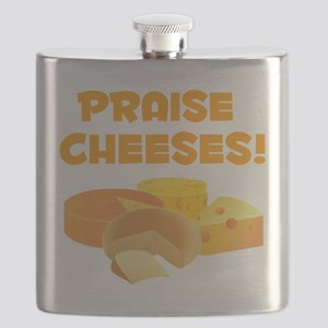 Praise Cheeses! Flask