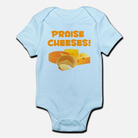 Praise Cheeses! Body Suit