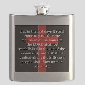 Micah 4-1 Flask