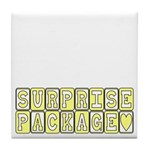Surprise Package Maternity Tile Coaster