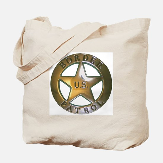 Border Patrol Tote Bag