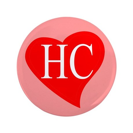 "I love Hillary Clinton 3.5"" Button (100 pack)"