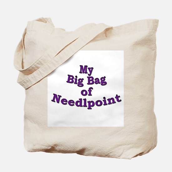 Needlepoint Tote Bag