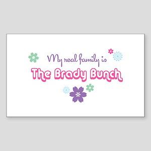 My Real Family – The Brady Bunch Sticker