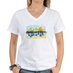 As Above So Below #13 Women's V-Neck T-Shirt