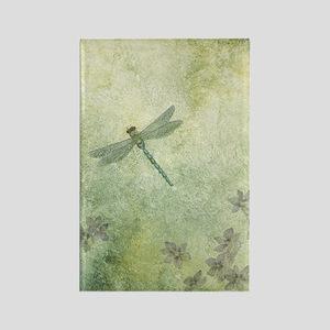 StephanieAM Dragonfly Rectangle Magnet
