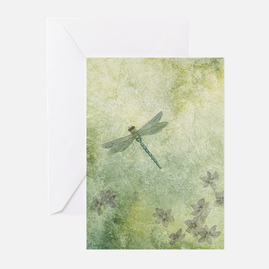 StephanieAM Dragonfly Greeting Cards (Pk of 10)