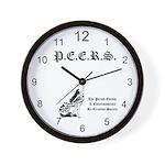 PEERS Wall Clock