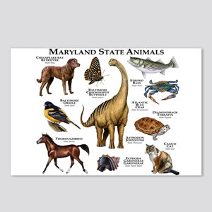 Maryland State Animals Postcards (Package of 8)
