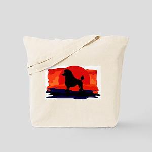 Poodle Standard Tote Bag