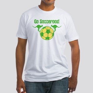 Australia Soccer Team Fitted T-Shirt