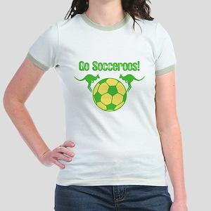 Australia Soccer Team Jr. Ringer T-Shirt